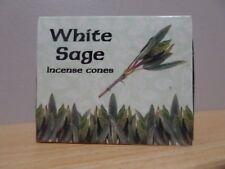 White Sage Incense Cones  1 Box of 10  Kamini  Free Post AU