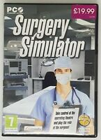 SURGERY SIMULATOR PC GAME PC CD ROM WITH INSTRUCTIONS