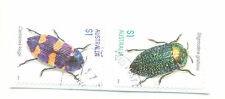 Australia-Beetles set fine used cto self-adhesive-Insects