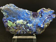 1267g BEST NATURAL Azurite/Malachite crystal minerals specimens from China  Y801
