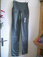 Pantalon de grossesse NOPPIES slim fit vert olive taille M neuf + étiq.