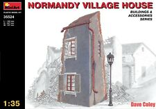 MiniArt 35524 1:35th scale Normandy Village House Free UK Postage