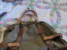 Wonder Youth Shoulder Bag Canvas And Leather