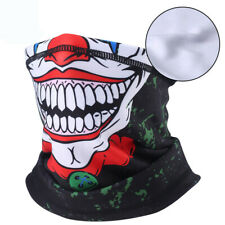 Skull Mask Fleece Neck Warmer Scarf Windproof Headband Face Mask Bandana Ski US