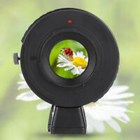 Manual Focus Aperture Lens Adapter Ring for Canon EOS Lens to for Olympus M4/3