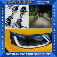VW T5.1 DRL Headlights Dynamic Indicator & Full LED Headlight Bulbs Transporter