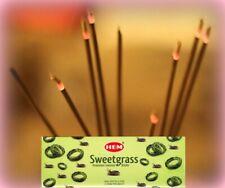 Sweetgrass - HEM Stick Incense  20 sticks per pack