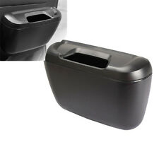 Mini Auto Car Vehicle Garbage Dust Case Holder Box Bin Trash Rubbish Can Black