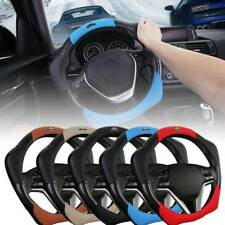 Universal Leather Car Auto Steering Wheel Cover 36/40cm Sport Style Cover Ring H
