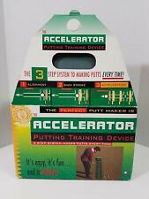 """The Accelerator """" Putting Training Device """" 3 Step Sytem Makes Putts Every Time."""