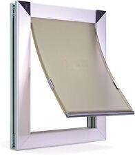 Extreme Performance Locking Rugged Aluminum Dog Doors For Exterior Doors - Med