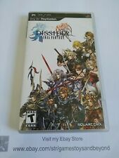 Dissidia Final Fantasy (Sony PSP, 2009) No Manual. Excellent Condition.