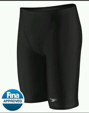 New Speedo Fastskin LZR Racer Elite  Swimming Jammer  Shorts Mens Black 30