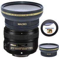 58mm ULTRA WIDE ANGLE MACRO HD 16K LENS FOR  Nikon AF-S NIKKOR 50mm f/1.8G Lens