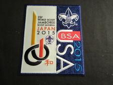 2015 World Jamboree US Contingent Jacket Patch       pks6