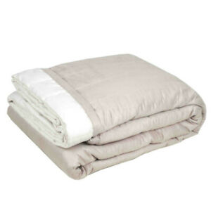 FREE POSTAGE - 225x260cm / Reversible Suede Quilts --- Double Side USE
