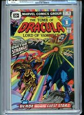 Tomb of Dracula #44 CGC 7.5 White Pages 30 Cent Variant Doctor Strange