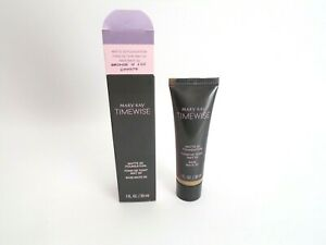 Mary Kay TimeWise 1 Oz Matte 3D Liquid Foundation Bronze W 110 NEW