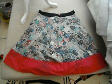 Freespirit quality cotton lined ladies cotton floral emboidery skirt  10