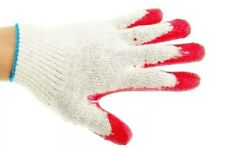 240 Pairs Red Latex Rubber Palm Coated Work Korea Safety Gloves Korred300