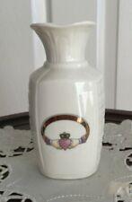 Donegal China Claddagh Ring Vase - Parian China