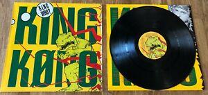 KING KONG - King Who? *LP* LIMITED VINYL von 1990 *RAR* DIE ÄRZTE FARIN URLAUB