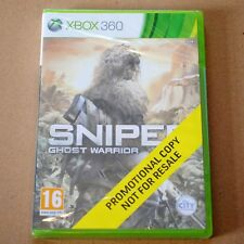 XBOX 360 - SNIPER : GHOST WARRIOR  * NEW & SEALED PROMOTIONAL COPY * MICROSOFT *