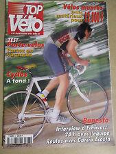 TOP VELO N°27: JUIN 1999: VELOS MONTES 12500 fr - PORTE-VELOS - ECHAVARRI