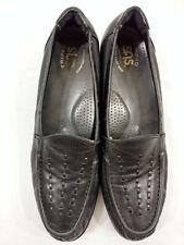 SAS Womens Black Moc Toe Loafer Tripad Comfort Foot Bed Size 10 S