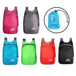 20L Backpack Camping Comfortable Folding Outdoor Rucksack Shockproof Sports