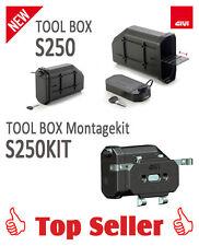 Neuheit!!! GIVI S250 Tool Box (Werkzeugtasche) inklusive dem S250KIT Montagekit