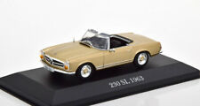 1:43 Atlas Mercedes 230 SL W113 Roadster 1963-1967 golden