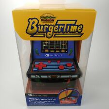 Retro Arcade Burger Time Micro Player Portable Video Game Mini System New