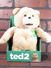 "TED 2 (The Movie) Talking 11"" Plush NEW Teddy Bear"