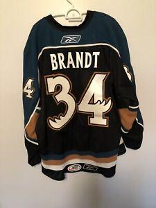 Manitoba Moose Jersey Authentic Game Worn Brandt 56 Reebok