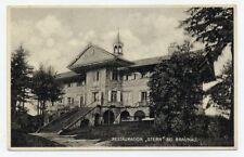 AK Braunau in Böhmen Restauration Stern Broumov Böhmen Gasthof