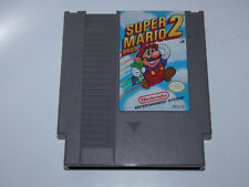 Super Mario Bros. 2 (Nintendo NES, 1988) Authentic Cart - Tested - Free Ship