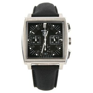 Tag Heuer Monaco CW2111 Automatic Chronograph Stainless Steel Mens Watch