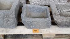 Alter Trog aus Granit 28 cm lang  Steintrog Granittrog G1185 Brunnen Waschbecken