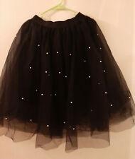 Black Tule & Pearl Skirt Costume