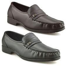 Mens New Slip On Casual Smart Memory Foam Mocassin Designer Loafers Shoes Size