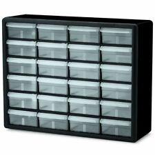 Akro-Mils 24 Drawer Storage Cabinets Hardware Craft, Screw Nut Bolt Drill Bits