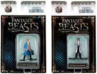 Nano Metalfigs Fantastic Beasts and Where to... Newt Scamander Tina Goldstein