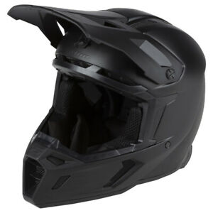 KLIM Sample F5 Koroyd Motorcycle Helmet ECE/DOT - Large - OPS Black