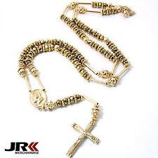 Collane e pendagli di bigiotteria Perle in oro in cristallo