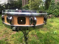 "vintage Gretsch 4""x14"" progressive jazz double badge 16 lug snare drum RARE NOS"