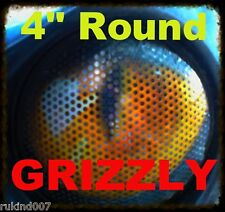 RUKind Cover's HeadLight Yellow Eyes Yamaha Grizzly 660/350/400 ATV 4' round set