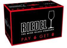 Riedel VINUM Bordeaux/Merlot/Cabernet Wine Glasses Set of 8