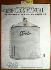 Circle Steel Corp Erection Manual In-Storage Drying Systems & Bins + Brochure