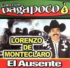 El Ausente by Lorenzo de Monteclaro CD ALL CD'S ARE BRAND NEW AND FACTORY SEALED